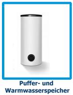 Puffer - und Warmwasserspeicher